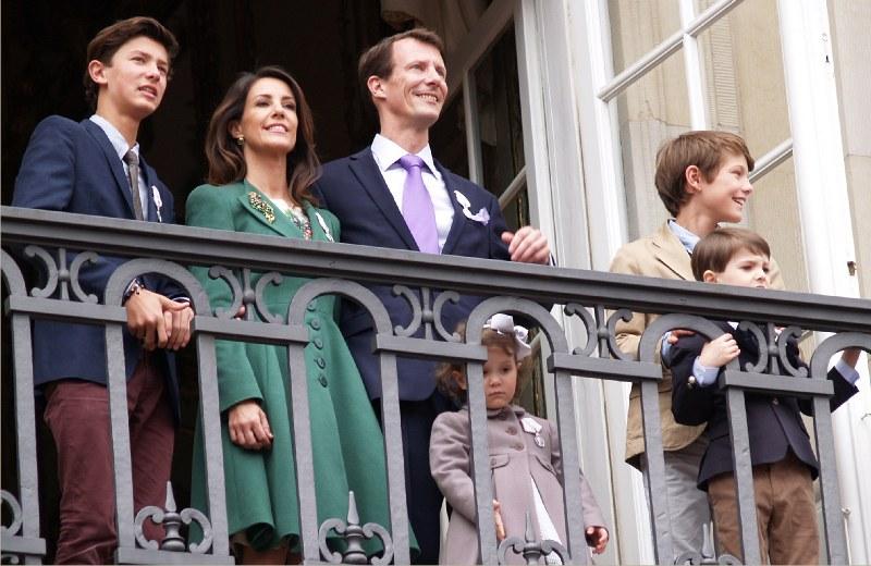kronprins frederik og marys børn