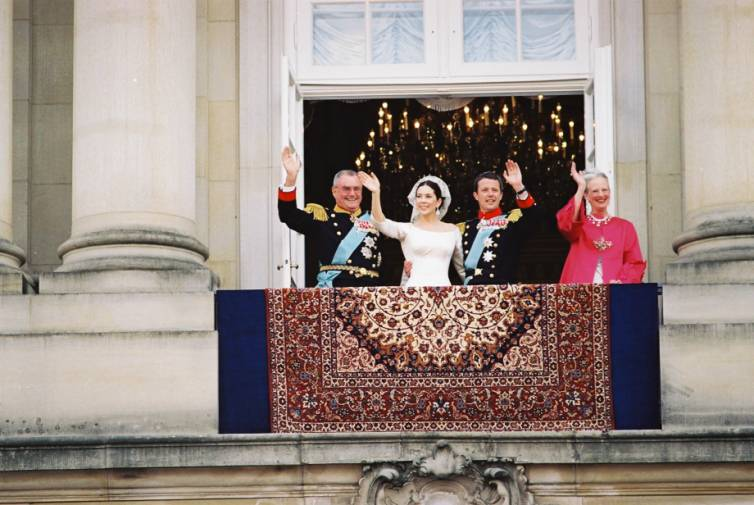 hendes kongelige højhed dronning margrethe