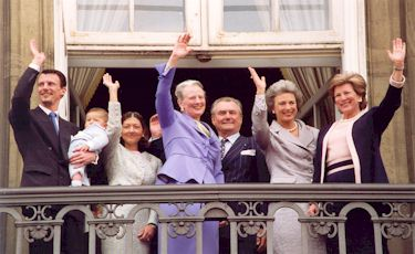 Hendes majestæt dronning margrethes 60årsdag 16 april 2000