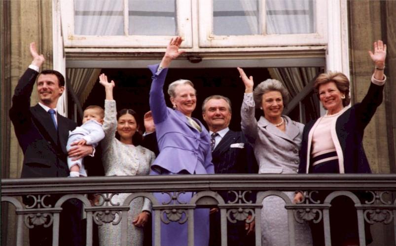 dronning margrethe 75 år